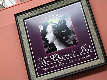 Queen's Ink Sign