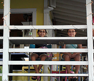 Nicole&Kate at Blue Oar