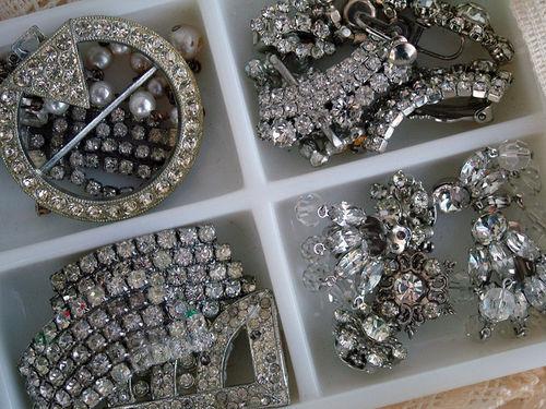 Vintage rhinestones