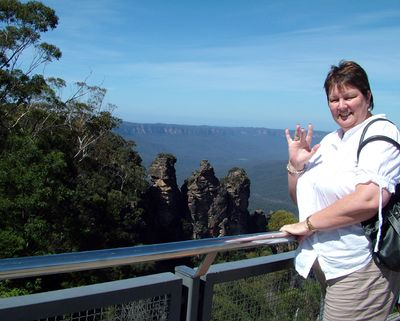 Lorraine at The 3 Sisters