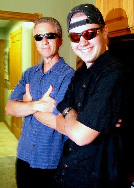 Men in shades