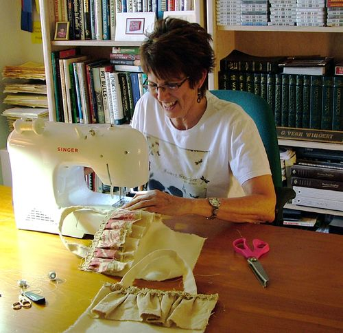 Seamstress Sharon