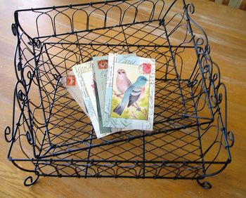 Wire basket1
