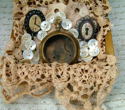 Grandmother's Clocks and Buttons