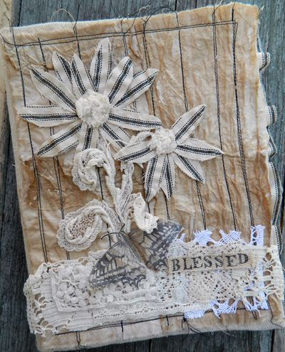 Blessed Fabric Journal
