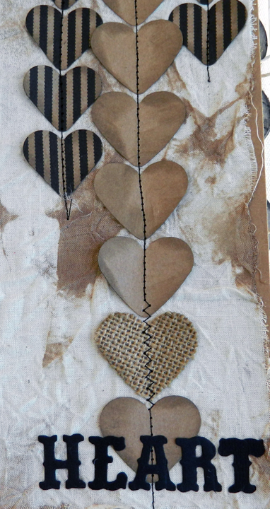 Stitched Hearts Detail