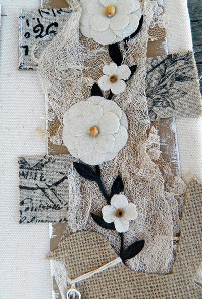 Vine Collage Detail