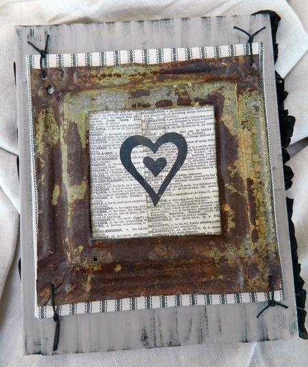 Rusty Tile Heart Album