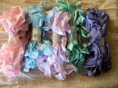 Spring Crinkle Ribbon Pack