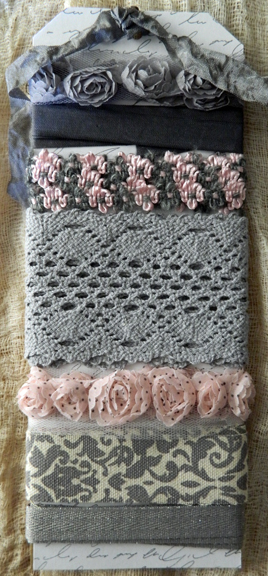 Trim Pack-Pink and Gray