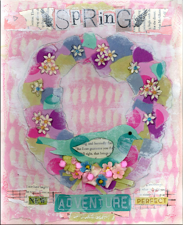 Spring_art_journal_page